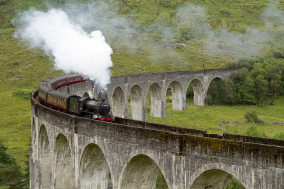 Follow in Harry Potter's tracks to explore the magic of England and Scotland